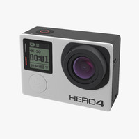 GoPro Hero 4 Black On/Off