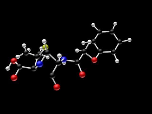 3d model penicillin