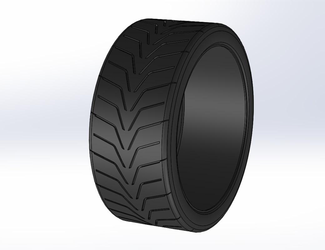 free obj model toyo r888 tire