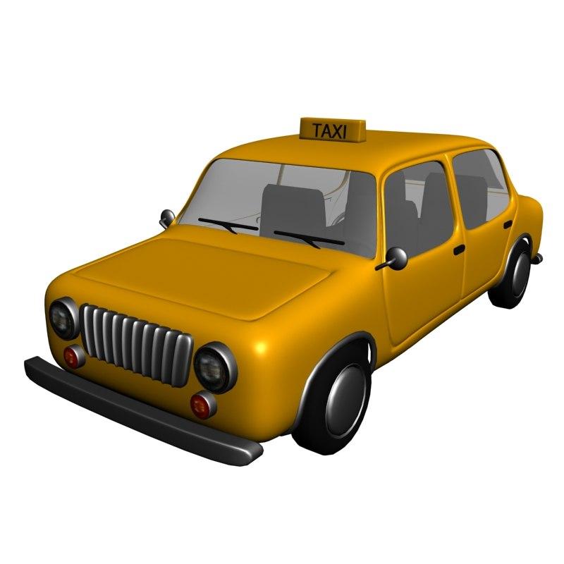 cartoon taxi ma