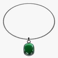 3dsmax necklace neck