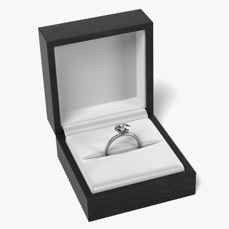 3d ring box model