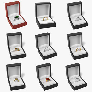 rings boxes 3ds
