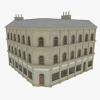 3d model european building interiors apartments