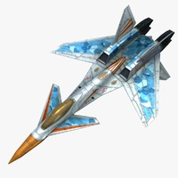 scifi aircraft x