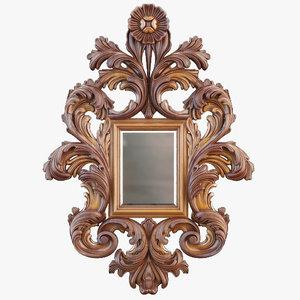 mirror cnc decoration max