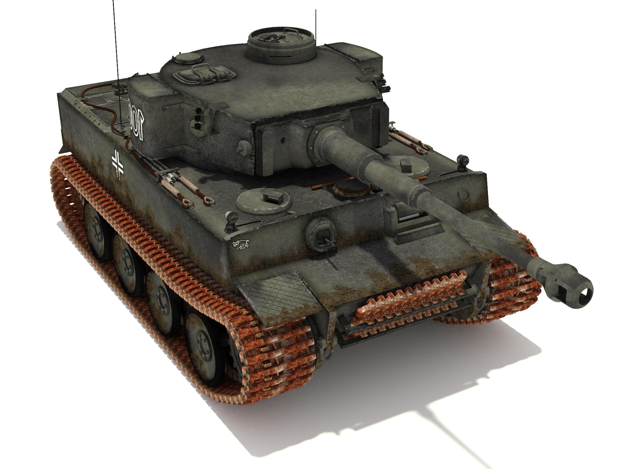 Pzvi Tigre Ausfh1 502 Batallón