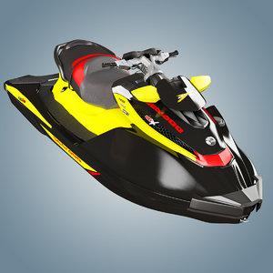 personal watercraft sea 260 3d max