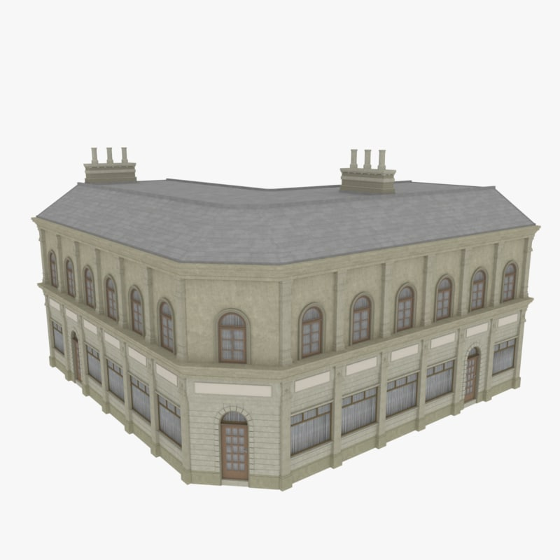 european building 3ds
