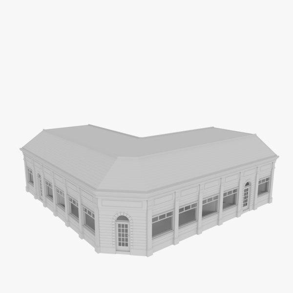 3ds max european building interiors