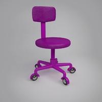 chair 4 kidroom 3ds