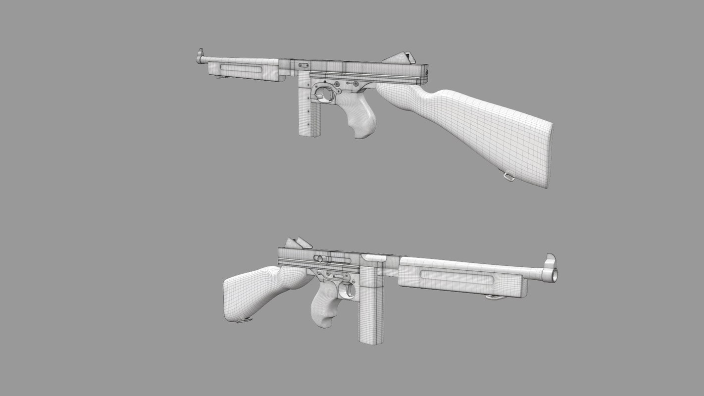 max world war thompson m1a1