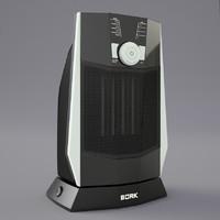 heater bork o502 3d model