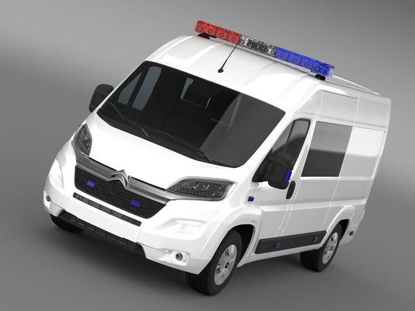 citroen relay police 2015 lwo