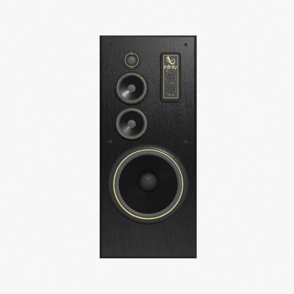 infinity speaker sm 155 3d model