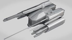 max sci-fi medium attack drone