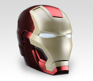 3d model ironman mark 42 3