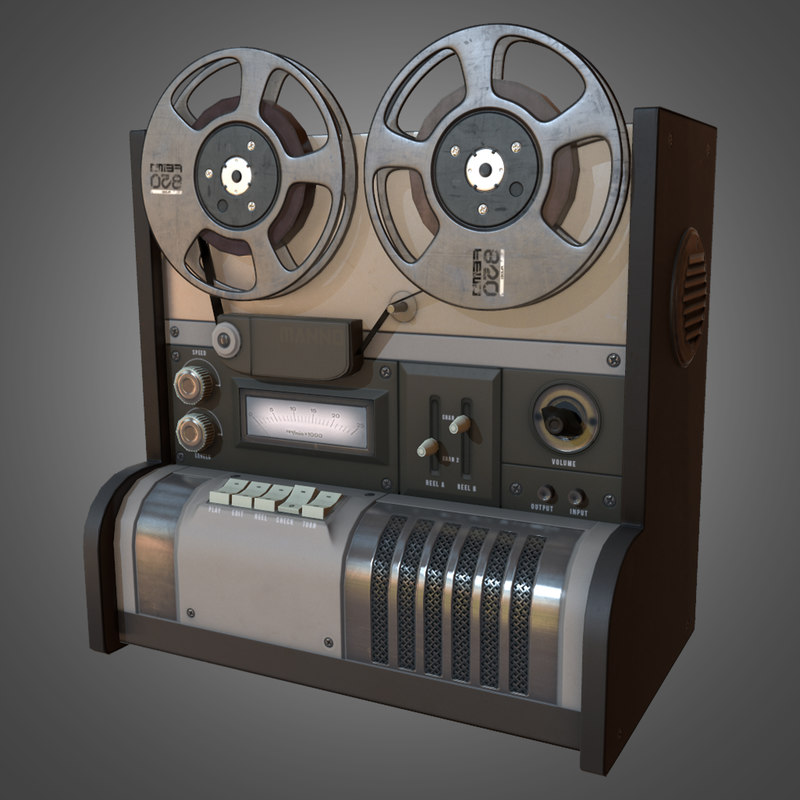 3d model reel recorder