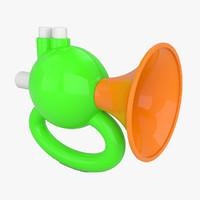 toy trumpet 3d 3ds