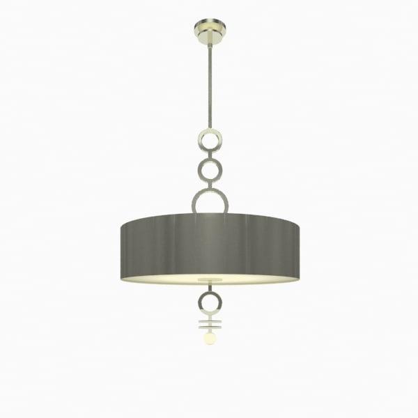 3d dianelli drum pendant lighting model