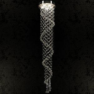 lamp chiaro kaskad 02 3ds