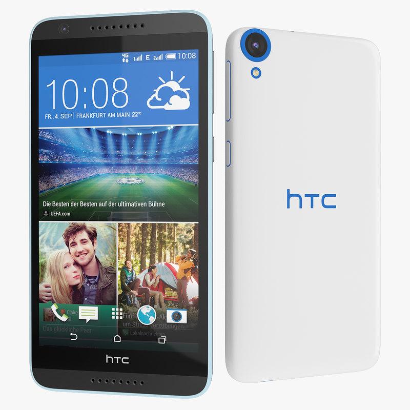 new htc desire 820 3d model