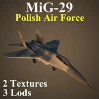 3d model mikoyan plf