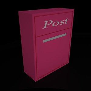 3d mailbox 1 model