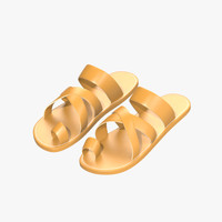 3ds max sandals