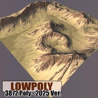 3ds max mountain games maps