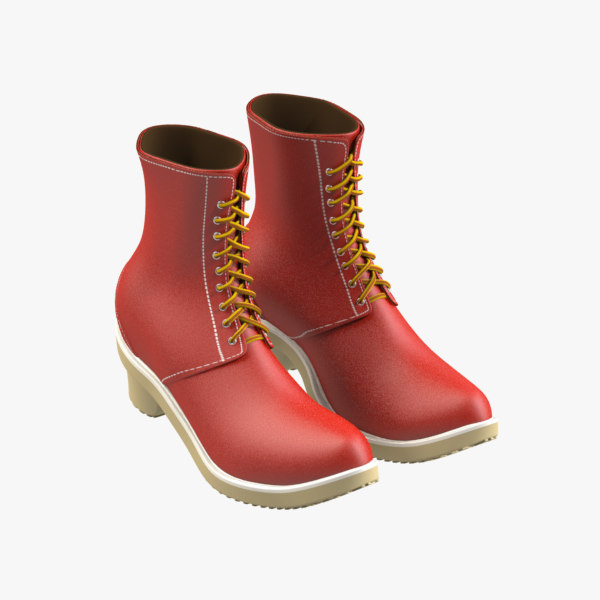 boots 3d model