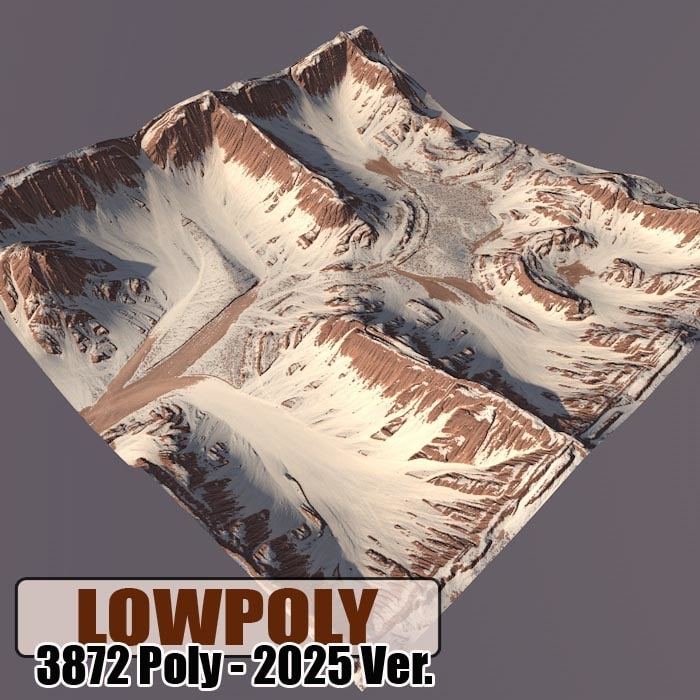 3d 3ds mountain games maps
