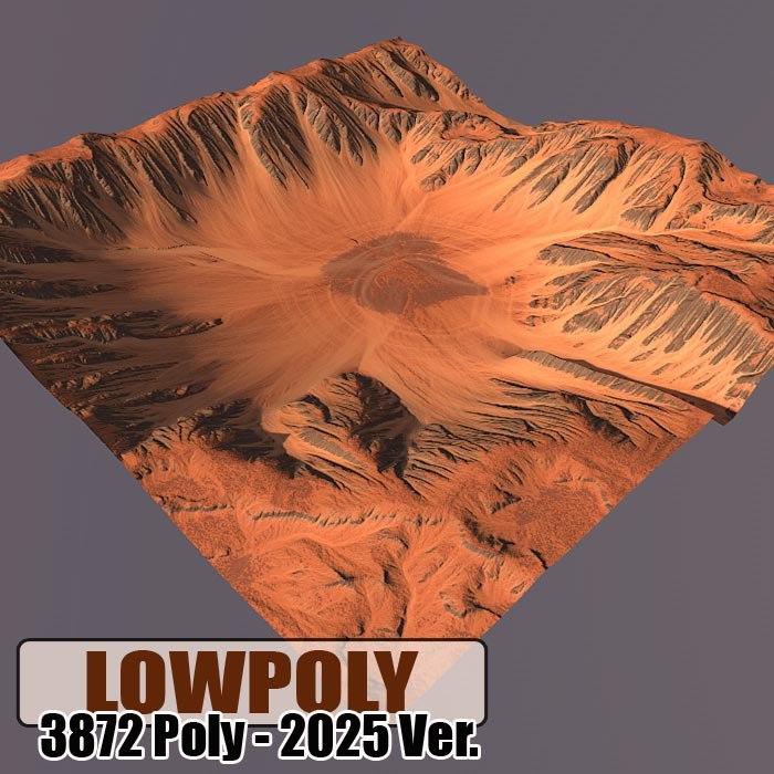 3d model mountain games maps
