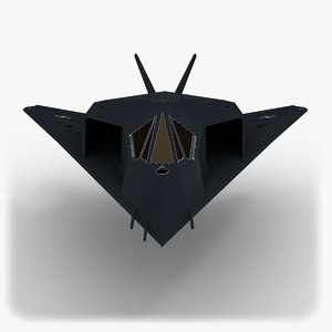 3d model lockheed martin f-117 nighthawk