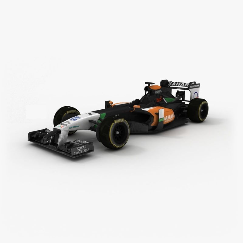 force india vjm07 2014 obj