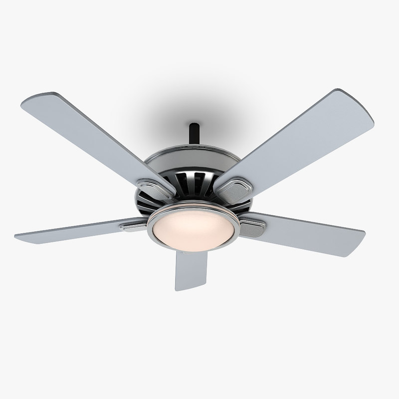 ceiling fan 1 3d 3ds