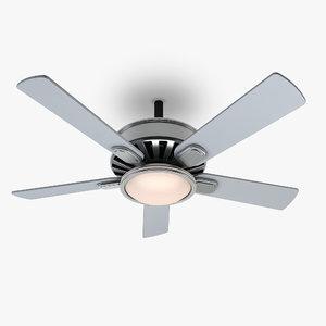 ceiling fan 1 3d 3ds