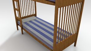 c4d bunk bed