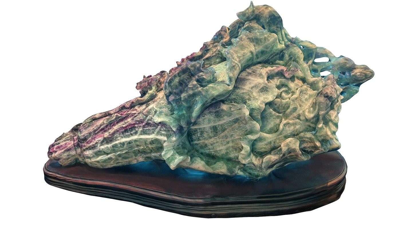 mineral taiwan 3d model
