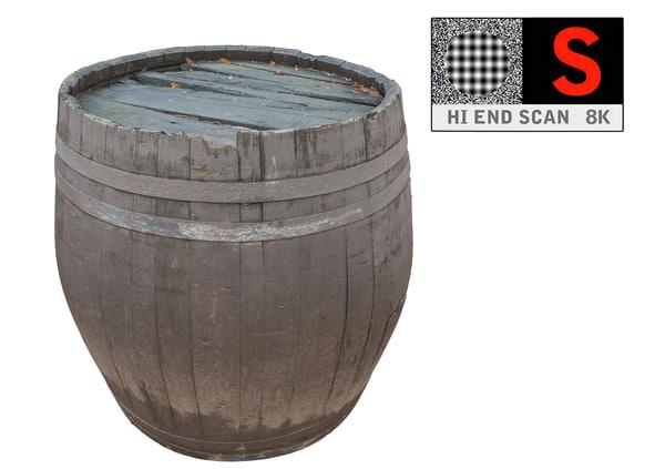 Barrel 3D Models for Download | TurboSquid
