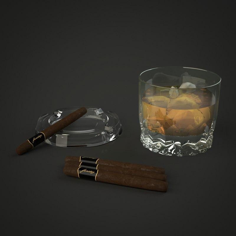 whiskey cigars max