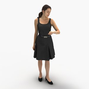 3d people archviz model