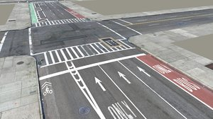 3d model new york city streets