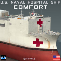 USNS Comfort T-AH-20 with SH60