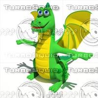 3d sweet dragon
