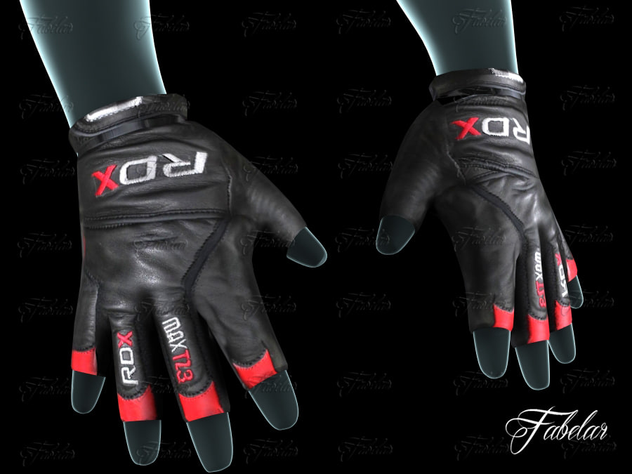 3ds weight lifting gloves