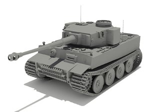 vi 502 tiger 3d max