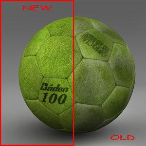 ball soccer indoor 3d model