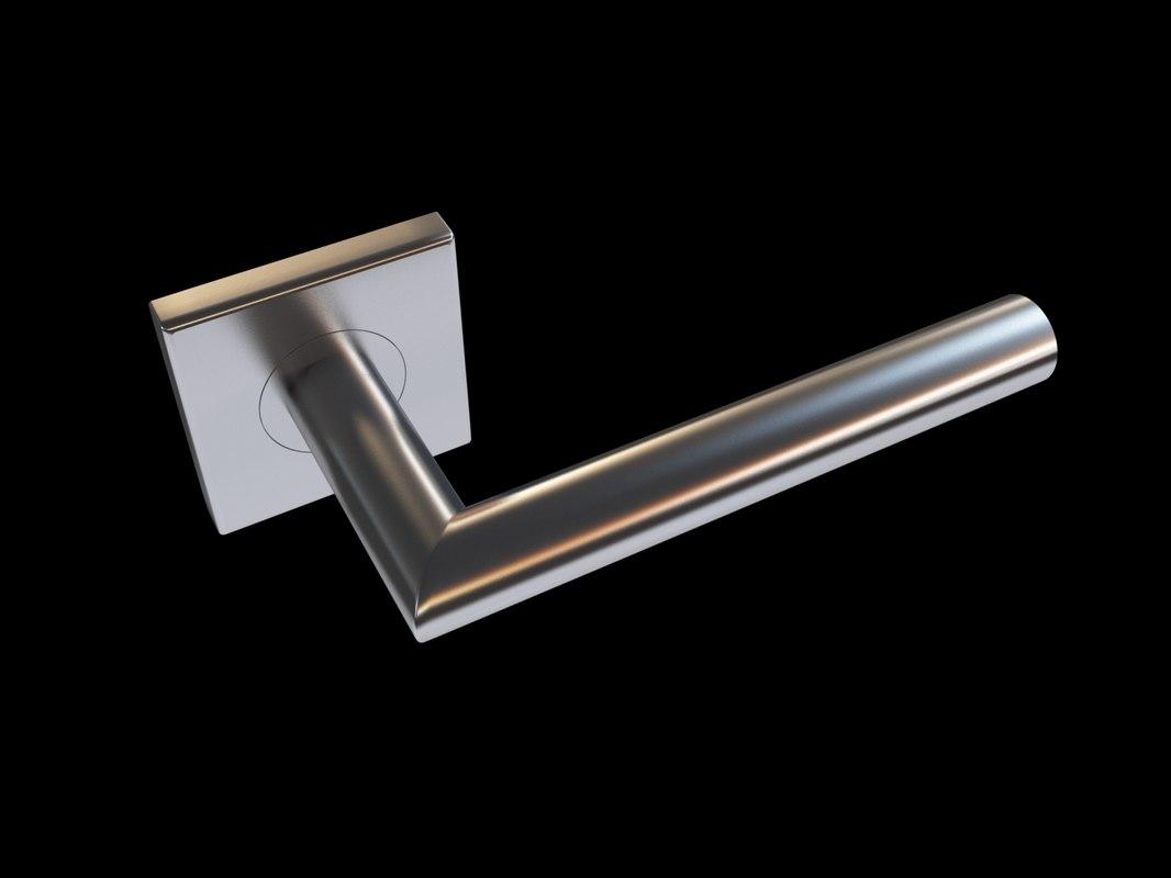 handle novanta q door 3d model