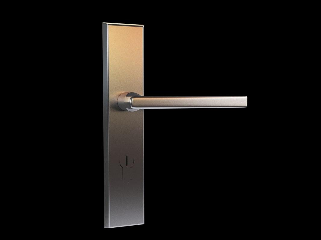 3d handle candix door model